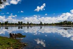 Озеро Srah Srang стоковое изображение