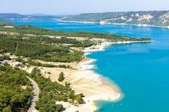 Озеро St Croix, Провансаль стоковые изображения rf