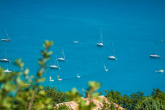 Озеро St Croix, Les Ущелье du Verdon, Провансаль, Франция Стоковое Фото