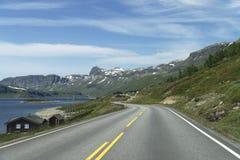 Озеро Strandavatnet Стоковое Изображение RF