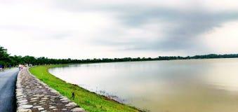 Озеро Sukhana, Чандигарх стоковое изображение rf