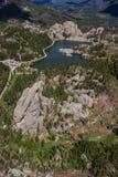 Озеро Sylvan, вид с воздуха Стоковое Изображение