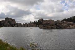 Озеро Sylvan, Южная Дакота, США Стоковое Изображение RF