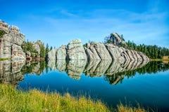 озеро sylvan Стоковые Изображения