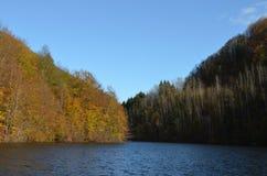 Озеро Tarnita, Cluj, Трансильвания, Румыния Стоковое Изображение