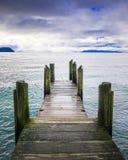 Озеро Taupo стоковая фотография