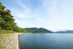 Озеро Tazawa в лете Стоковые Изображения