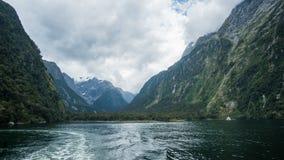Озеро Te Anau Стоковое Изображение