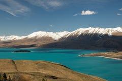 Озеро Tekapo Стоковые Изображения RF
