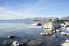 Озеро Tekapo Стоковые Изображения