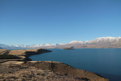 Озеро Tekapo Стоковые Фотографии RF