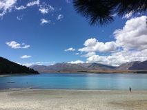 Озеро Tekapo стоковое изображение rf