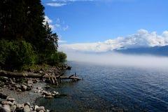 Озеро Teletskoye Стоковое Изображение