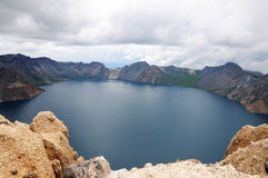 Озеро Tianchi Стоковое фото RF
