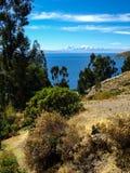 Озеро Titicaca стоковое фото
