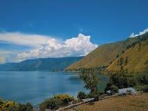 Озеро Toba стоковое изображение