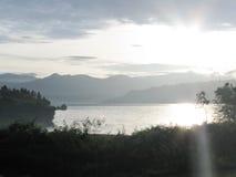 Озеро Toba Стоковое фото RF
