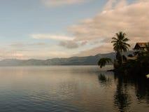 Озеро Toba Стоковое Изображение RF