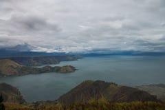 Озеро Toba стоковые фотографии rf