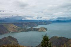 Озеро Toba стоковые изображения