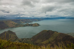 Озеро Toba стоковые фото