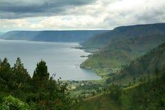 озеро toba Стоковая Фотография