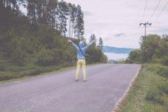 Озеро toba, medan, Индонезия Стоковая Фотография RF