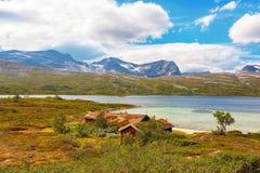 Озеро Tovatna, Норвегия Стоковые Фотографии RF