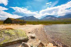 Озеро Tovatna Стоковое Фото