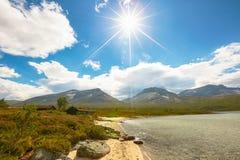 Озеро Tovatna Стоковое Изображение RF