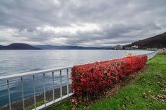 Озеро Toya Стоковые Изображения