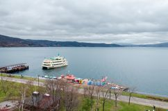 Озеро Toya Стоковое Фото