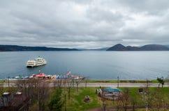 Озеро Toya Стоковое Изображение RF