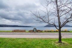 Озеро Toya Стоковые Изображения RF