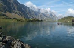 Озеро Trübsee на Engelberg Стоковая Фотография RF