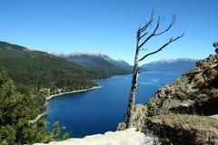 озеро traful стоковое фото rf