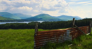 Озеро Tulla Стоковая Фотография
