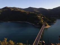 Озеро Turano Стоковые Изображения RF