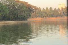 Озеро Ulsoor Стоковые Изображения RF