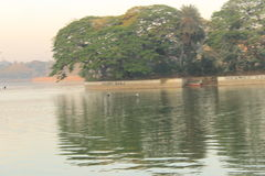 Озеро Ulsoor Стоковое фото RF