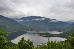 Озеро Vacha в Болгарии Стоковые Изображения RF