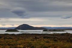 Озеро vatn ½ MÃ Стоковое Изображение