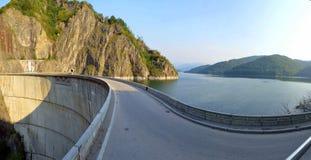 Озеро Vidraru Стоковое Изображение