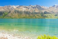 Озеро Wakatipu на Glenorchy Стоковые Изображения RF