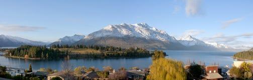 Озеро Wakatipu, Queenstown Стоковая Фотография RF