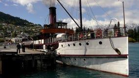 Озеро Wakatipu Queenstown Earnslaw Стоковые Изображения