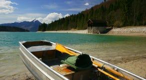 озеро walchen Стоковая Фотография