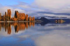Озеро Wanaka, южный остров Новая Зеландия Стоковая Фотография RF