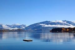 Озеро Wanaka, южный остров Новая Зеландия Стоковое Фото