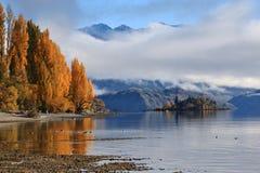 Озеро Wanaka, южный остров Новая Зеландия Стоковые Изображения